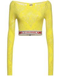 C-Clique T-shirt - Yellow