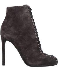 Giambattista Valli Ankle Boots - Grey