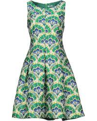 P.A.R.O.S.H. Short Dress - Green