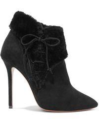 Alaïa Ankle Boots - Black