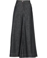Brunello Cucinelli Denim Trousers - Grey
