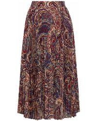 Haute Hippie - 3/4 Length Skirt - Lyst