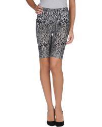 Pieces - Bermuda Shorts - Lyst