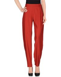 Paul Smith Casual Trousers - Red