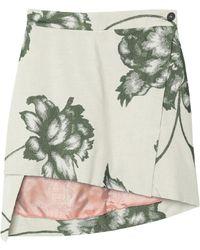 Vivienne Westwood Mini Skirt - Grey