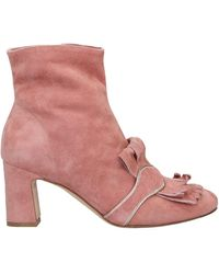 The Seller Ankle Boots - Pink