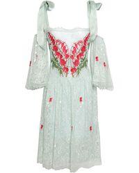 Temperley London Knee-length Dress - Green