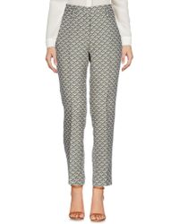 Momoní Casual Trousers - Natural