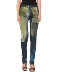 Chalayan Denim Pants - Green