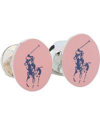 Polo Ralph Lauren Cufflinks And Tie Clips - Pink