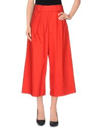 Stefanel 3/4-length Short - Red