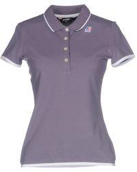 K-Way Polo Shirt - Purple