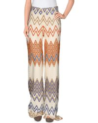 SuperTrash Casual Trousers - Natural