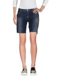 Blugirl Jeans - Denim Bermudas - Lyst