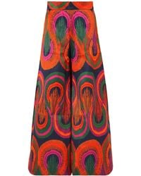 Rianna + Nina Casual Trouser - Orange