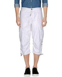 Schott Nyc 3/4-length Short - White