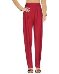 Genny Casual Trouser - Red