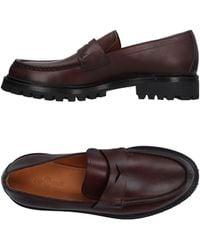 Car Shoe Loafer - Brown
