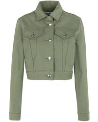 Être Cécile Denim Outerwear - Green