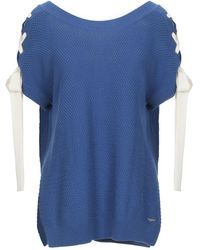 SCEE by TWINSET Pullover - Blau