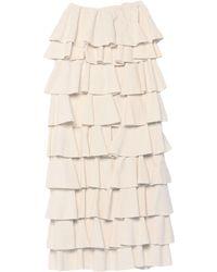 Soallure Long Skirt - White
