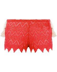 Eberjey Pantalons de plage - Rouge