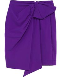 Dondup Mini Skirt - Purple