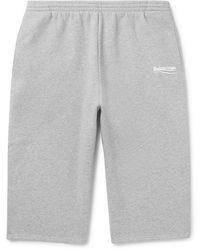 Balenciaga Bermudashorts - Grau