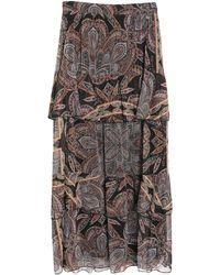 Souvenir Clubbing Long Skirt - Black