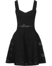 Maje Short Dress - Black
