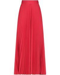 MSGM Long Skirt - Red