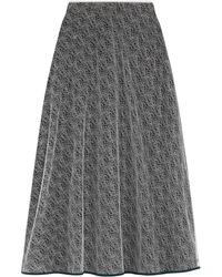 Vionnet - Long Skirt - Lyst