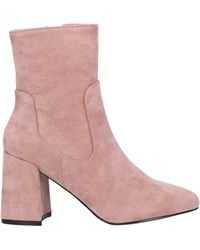 Sexy Woman Ankle Boots - Pink