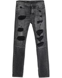 Unravel Project Denim Trousers - Grey