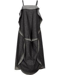 Limi Feu - 3/4 Length Dress - Lyst