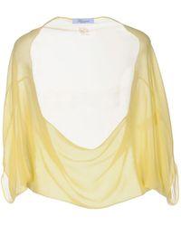 Blumarine Shrug - Yellow