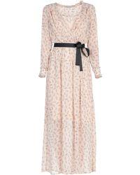 Naf Naf Long Dress - Natural
