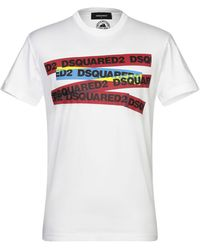 DSquared² Camiseta - Blanco