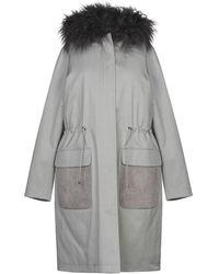 Fabiana Filippi Down Jacket - Gray