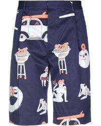 Band of Outsiders Shorts & Bermuda Shorts - Blue
