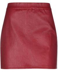 Helmut Lang Mini Skirt - Red