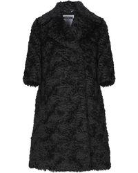 Moschino Teddy Coat - Black