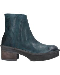 Khrio Ankle Boots - Blue