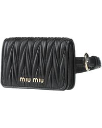 Miu Miu Backpacks & Fanny Packs - Black