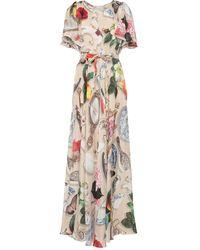 Boutique Moschino Long Dress - Natural