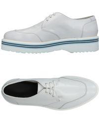 Alberto Guardiani Lace-up Shoe - Grey