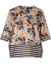 Blue Les Copains - Sweatshirt - Lyst