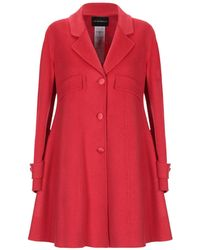 Emporio Armani Coat - Red