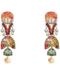 Ayala Bar Earrings - Orange