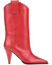 Nina Ricci Ankle Boots - Red